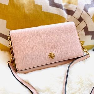 Tory Burch Carter Chain Wallet Crossbody